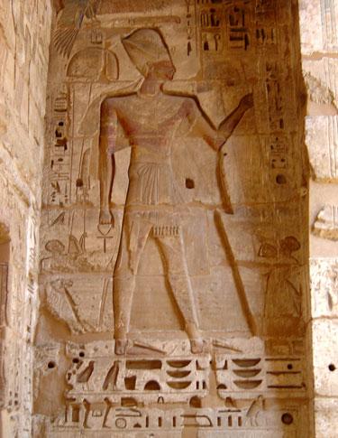 pharaon etait blanc